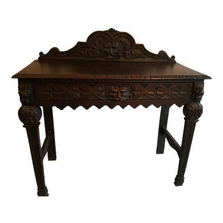 English Victorian Console Table