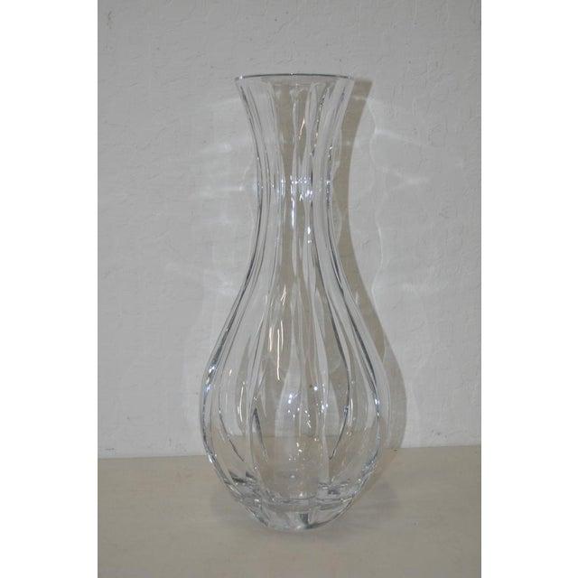 Nambe Fine Crystal Glass Vase Chairish