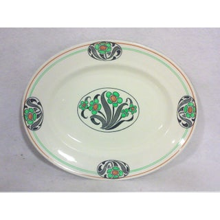 English Art Deco Oval Platter Preview