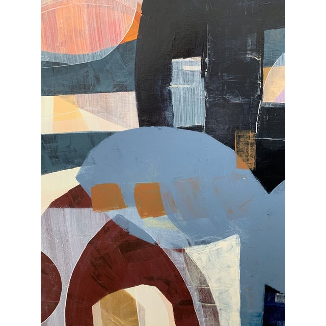Large Scale Original Abstract Acrylic Painting For Sale - Image 4 of 6