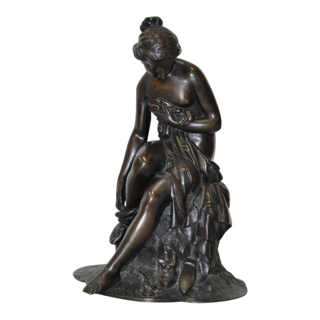 19th C. Bronze Ballerina For Sale