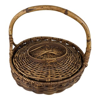 Indonesian Rice Basket For Sale