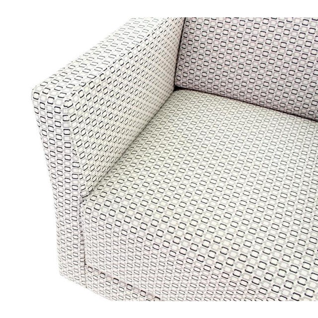 Pair of Bernhardt Upholstered Lounge Chairs For Sale In New York - Image 6 of 9