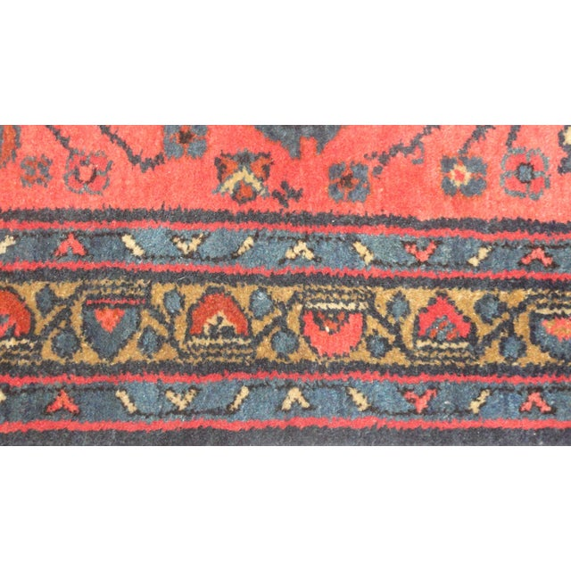"""Antique Persian Lillihan Rug - 5' x 2'9"""" For Sale - Image 4 of 4"""