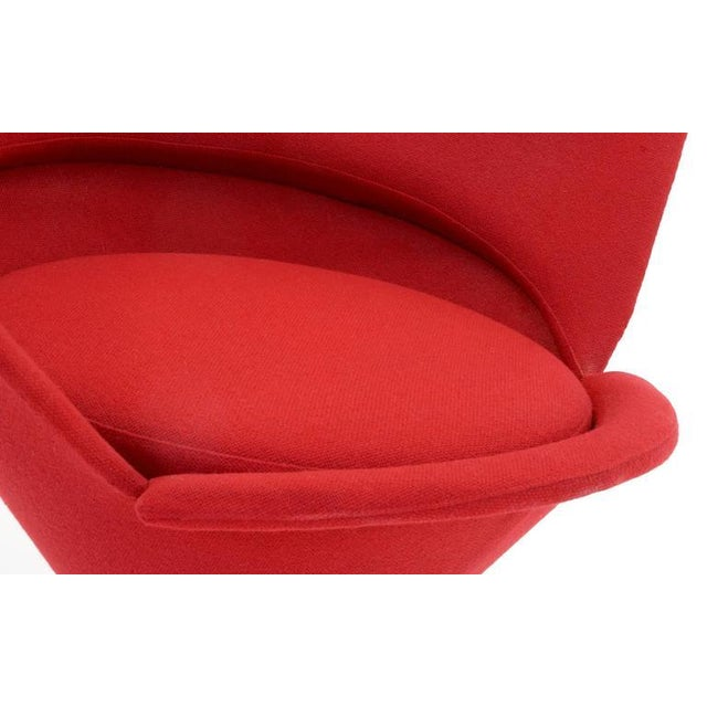 Vintage Original Verner Panton Cone Heart Chair for Plus-Linje For Sale - Image 9 of 9
