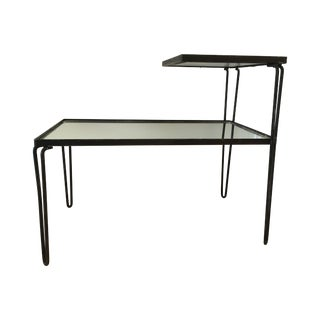 1970s Vintage Mirrored Side Table