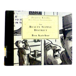 The Beauty Supply District, Ben Katchor Book, Signed For Sale