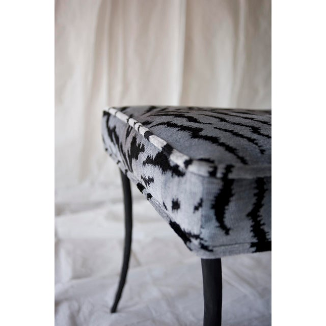 Contemporary Scalamandre for vanCollier Francois Ottoman For Sale - Image 3 of 4