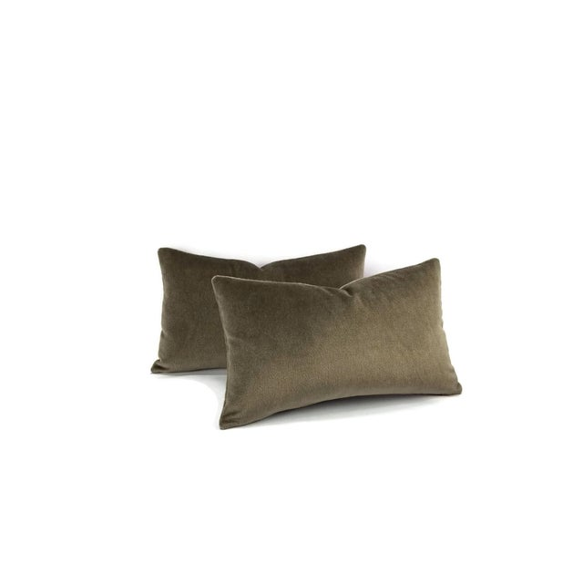 From F. Schumacher is Palermo Mohair in the color Thyme. This is a lovely mohair in a stunning taupe color. Made with 51%...