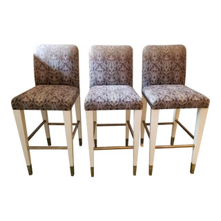 1980s Vintage Donghia Barstools - Set of 3 For Sale