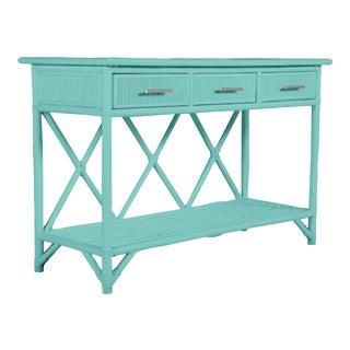 Aruba Sideboard - Turquoise For Sale