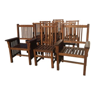 10 Arts & Crafts Dining Chairs For Sale