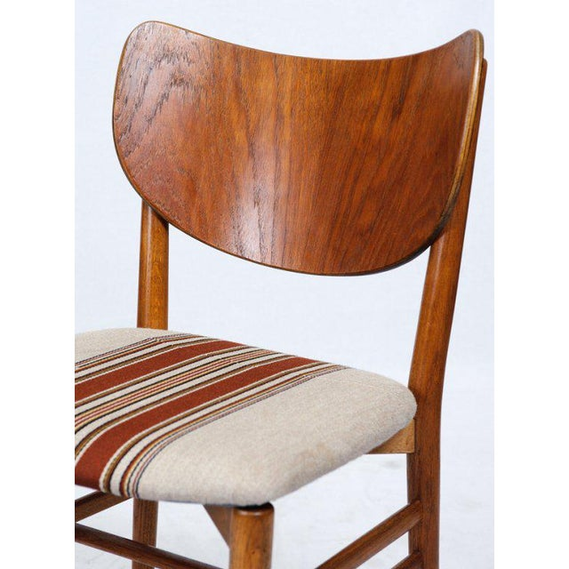 Set of 4 Eva & Niels Koppell Dining Chairs - Image 6 of 7
