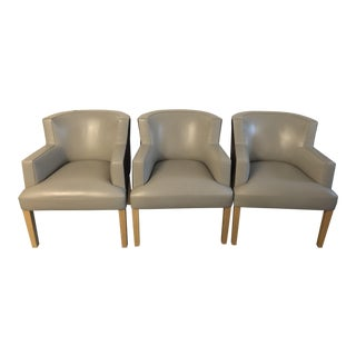 Vicente Wolf Modern Dining Chairs - Set of 3