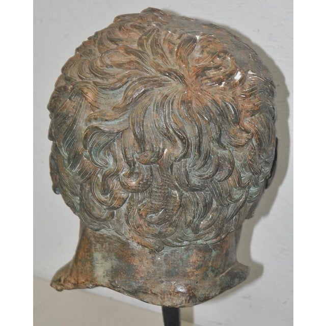 19th Century Bronze Head After Greek Antiquities For Sale In San Francisco - Image 6 of 10