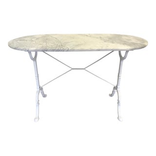 20th Century Shabby Chic Bistro Table For Sale