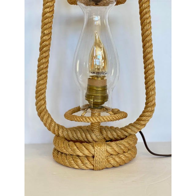 We are very pleased to offer a gorgeous rope lantern table lamp by couple designer, Adrien Audoux and Frida Minet, made in...