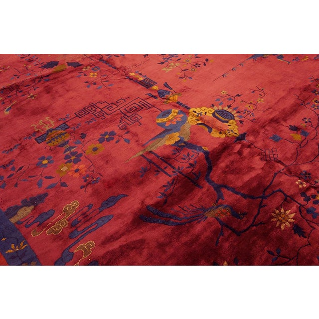 Chinese Art Deco Rug For Sale In New York - Image 6 of 7