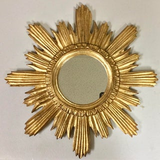 Italian Florentine Sunburst Giltwood Mirror Preview