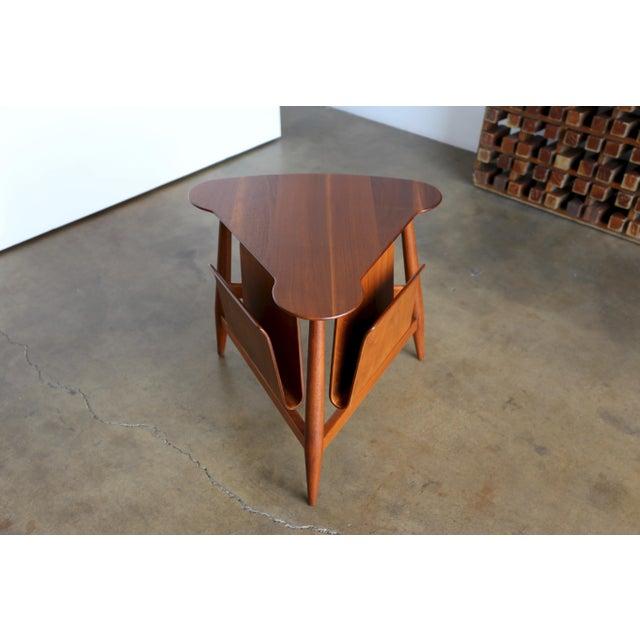 Mid Century Edward Wormley Model 5313 Magazine Table For Sale - Image 13 of 13