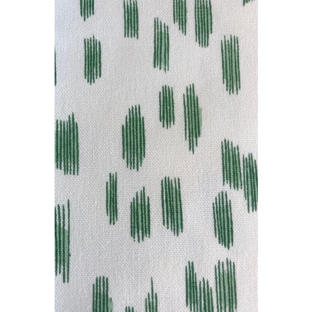 """Les Touches Green Pillow Cover 18""""sq - Image 2 of 3"""