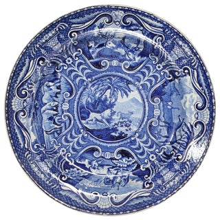 "John Hall Staffordshire Plate ""Quadrupeds"" For Sale"