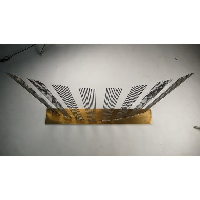 """Val Bertoia """"8 Times Sound"""" Rods Sculpture For Sale In Dallas - Image 6 of 11"""
