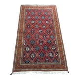 Image of 1970s Vintage Persian Qashqai Rug - 6′10″ × 11′7″ For Sale