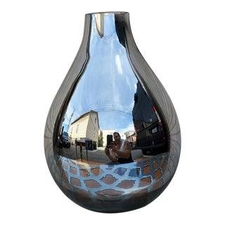 1960s Mid-Century Mercury Glass Vase For Sale