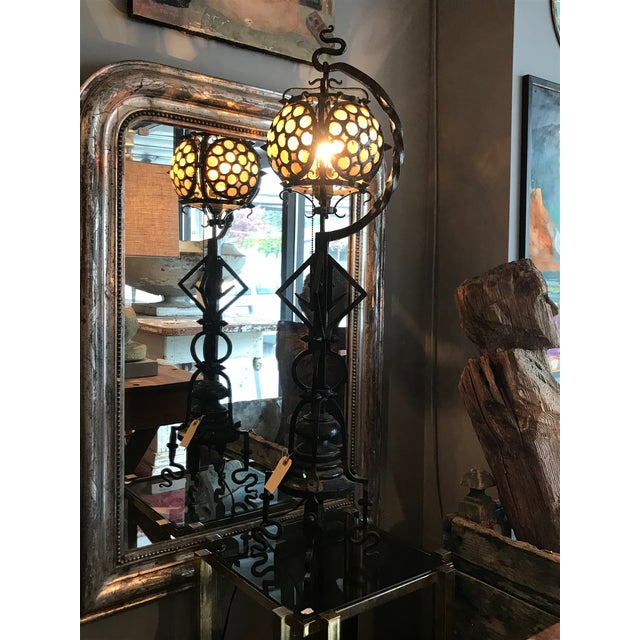 Hand-wrought Arts & Craft Table Lamp - Image 10 of 10