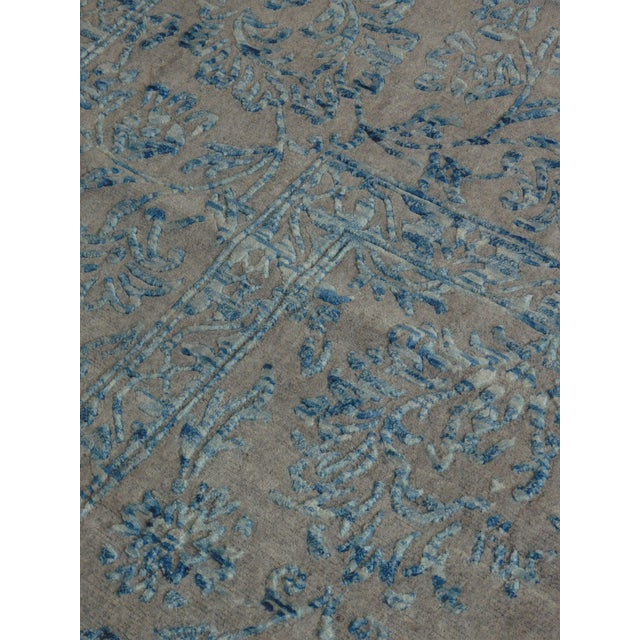 Hand Knotted Indian Rug - 8′ × 10′ - Image 11 of 11