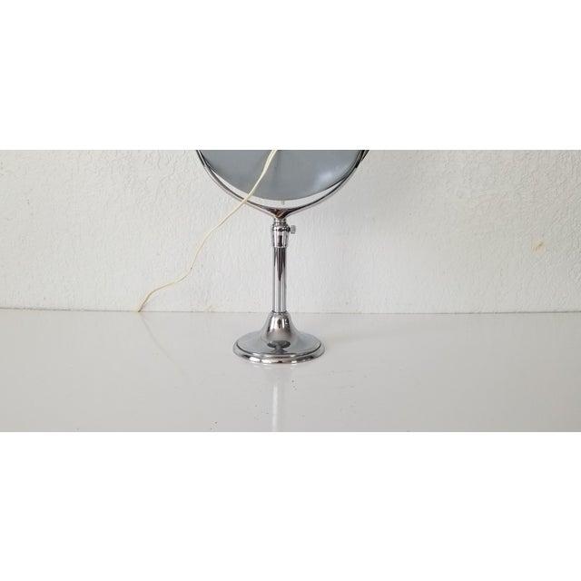 1960 Brot Mirophar Illuminated Vanity Mirror Paris - France . For Sale - Image 10 of 13