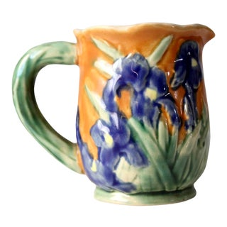 Vintage Iris Ceramic Creamer For Sale