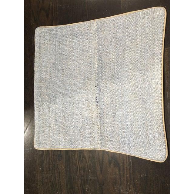 Vintage Turkish Hemp Pillow - Image 2 of 4