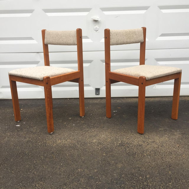 Scandinavian Modern Dining Chairs - Set of 7 - Image 3 of 11