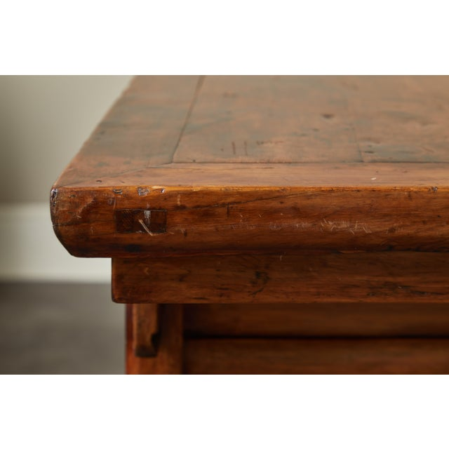 18th Century Antique Chinese Three Drawer Sideboard For Sale - Image 11 of 13