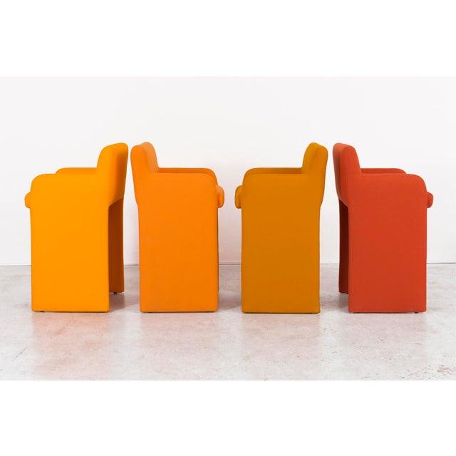 Milo Baughman Gradient Stool Chairs - Set of 4 - Image 2 of 9