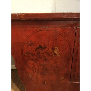 19th Century Chinese Red Lacquer Altar Table Preview