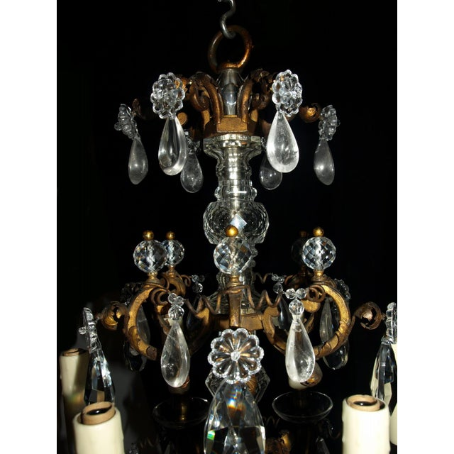 Louis XV Antique Chandelier. Elegant Louis XV Chandelier For Sale - Image 3 of 7