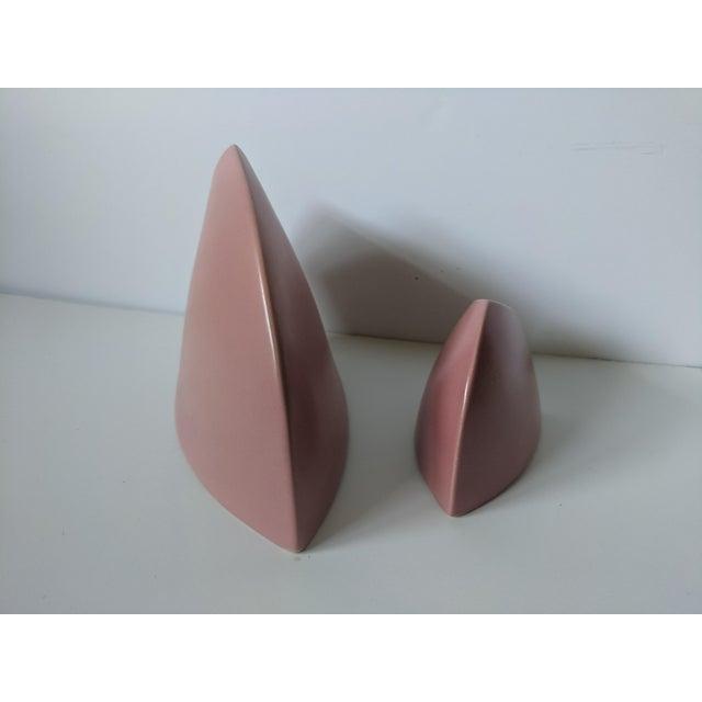 Set of 2- 1980s Modernist J Johnston Sculptural Vessels For Sale - Image 10 of 12