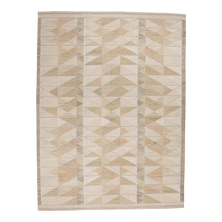 Modern Swedish Frega Rug - 9' X 12' For Sale
