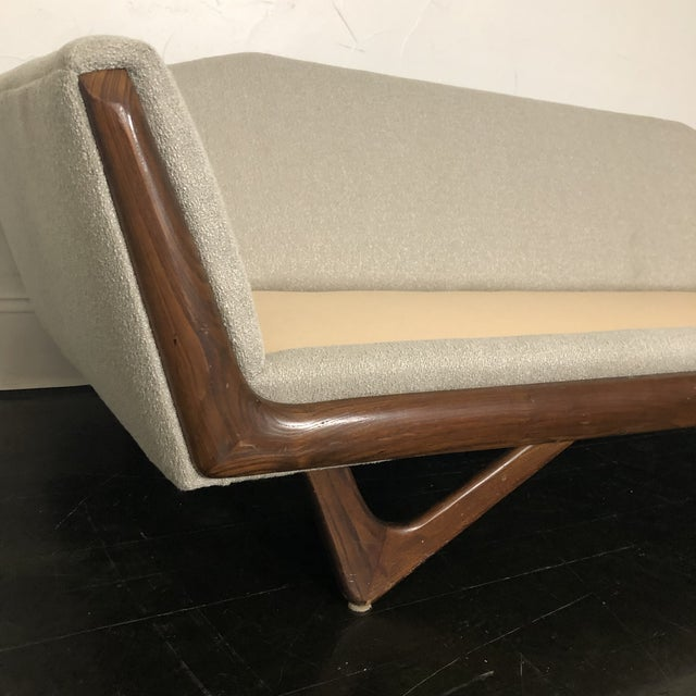 1960s Restored Adrian Pearsall Gondola Sofa For Sale - Image 10 of 13