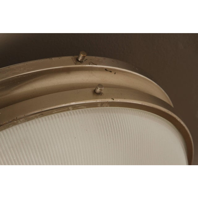 Metal 1960s Sergio Mazza 'Sigma' Wall or Ceiling Light for Artemide For Sale - Image 7 of 11