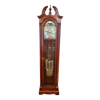 Traditional Howard Miller Grandfather Clock For Sale