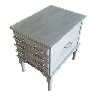 Henkle Harris Tray Chest For Sale