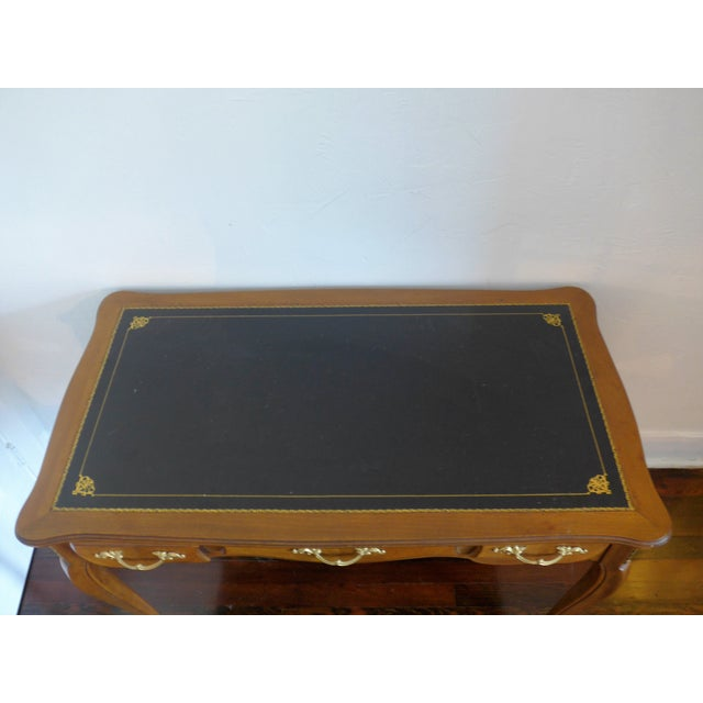1960's Leather Top Writing Desk - Image 9 of 10