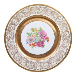 "Vintage Wheeling 11"" Dinner Plate or Charger"