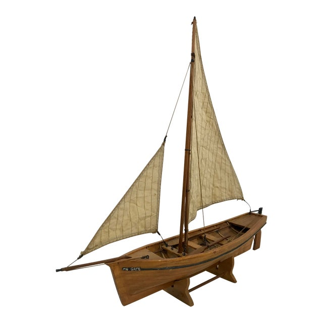 Spanish Fishing Barque Model For Sale