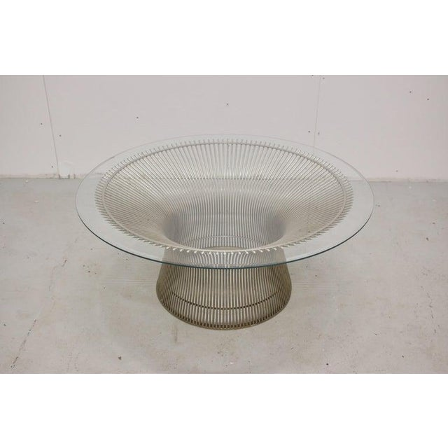 Mid-Century Modern Warren Platner for Knoll Coffee Table, Usa, 1970s For Sale - Image 3 of 10