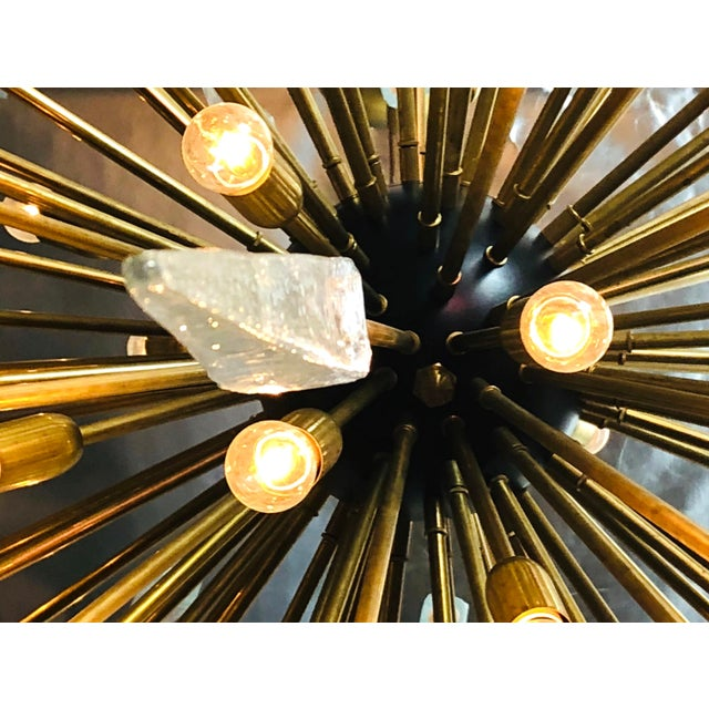 2010s Sole Sputnik Chandelier by Fabio Ltd For Sale - Image 5 of 7